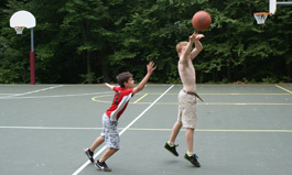 Basketball at Camp Mi-Te-Na