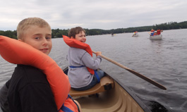 Canoe and Camp Trips at Camp Mi-Te-Na